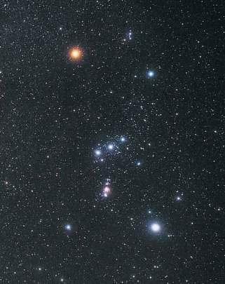 Orion, bagian bawahnya mirip kalaejengking