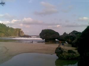 Ini pantai Siung
