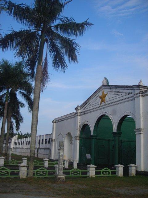Benteng Kuto Besak. Bentengnya Kesultanan Palembang Darussalam.