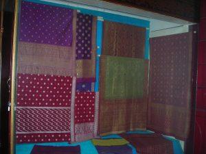 Songket di Museum Mahmud Badaruddin II