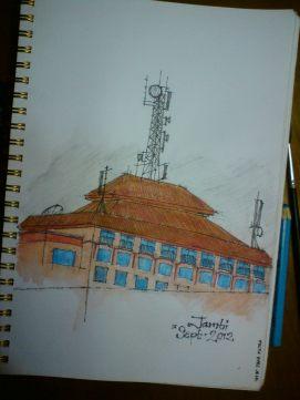 Sketsa Kota Jambi
