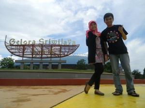 Stadion Gelora Sriwijaya.