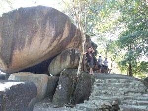 Batu Balai. Perhatikan, si Ahda jadi model! :D
