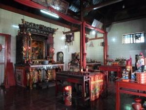 Interior Kelenteng Kung Fuk Min