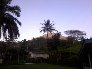 Gunung Dempo, dari Pabrik PTPN 7