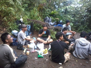 Shelter 1 Gunung Dempo