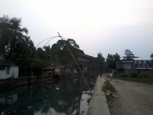 Tangkul, alat penangkap ikan khas Sumatera Selatan